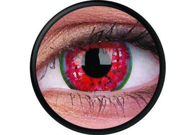 ColorVue Crazy Kontaktlinsen - Melon Colic (2 St. Jahreslinsen) – ohne Stärke