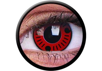 ColourVue Crazy Kontaktlinsen - Sasuke (2 St. Jahreslinsen) – ohne Stärke