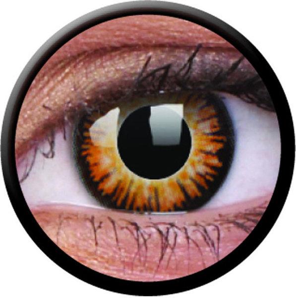 ColourVue Crazy Kontaktlinsen - Twilight (2 St. Jahreslinsen) – ohne Stärke