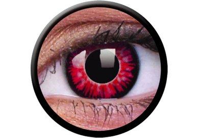 ColourVue Crazy Kontaktlinsen - Vampirei (2 St. Jahreslinsen) – ohne Stärke