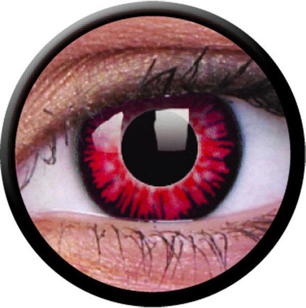ColourVue Crazy Kontaktlinsen - Twilight Volturi (2 St. Jahreslinsen) – ohne Stärke