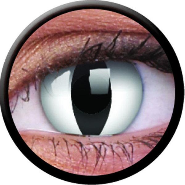 ColourVue Crazy Kontaktlinsen - Viper (2 St. Jahreslinsen) – ohne Stärke