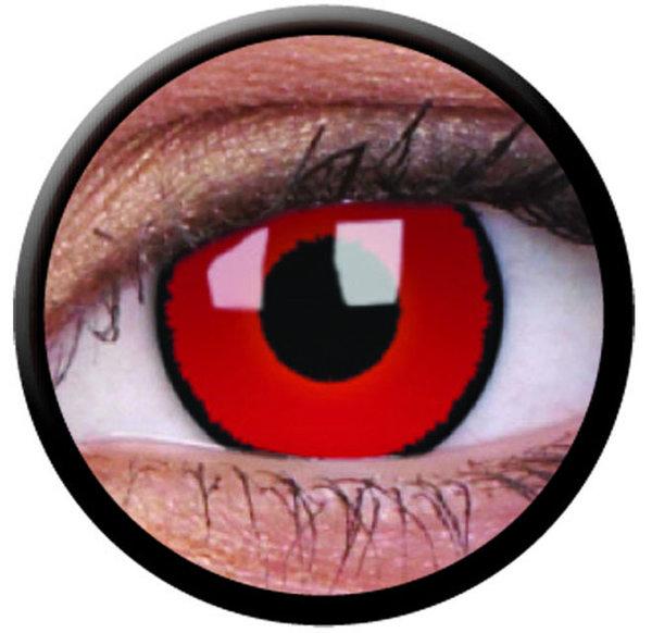 ColourVue Crazy Kontaktlinsen - Voldermort (2 St. Jahreslinsen) – ohne Stärke