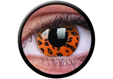 ColourVue Crazy Kontaktlinsen - Yellow Leopard (2 St. Jahreslinsen) – ohne Stärke - exp.04/2020