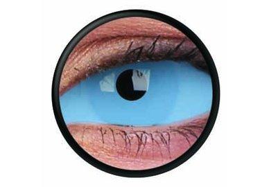 ColourVue Crazy Kontaktlinsen 22 mm - Athena Blue (2 St. 6-Monatslinsen) – ohne Stärke