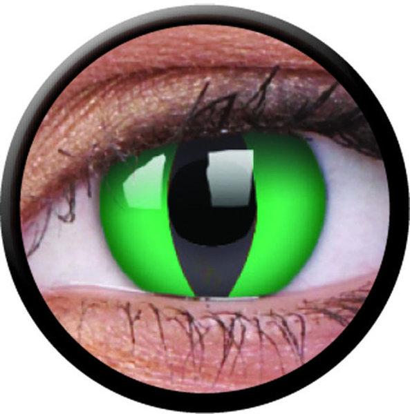 ColorVue Crazy-Kontaktlinsen - Anaconda (2 St. 3-Monatslinsen) – ohne Stärke