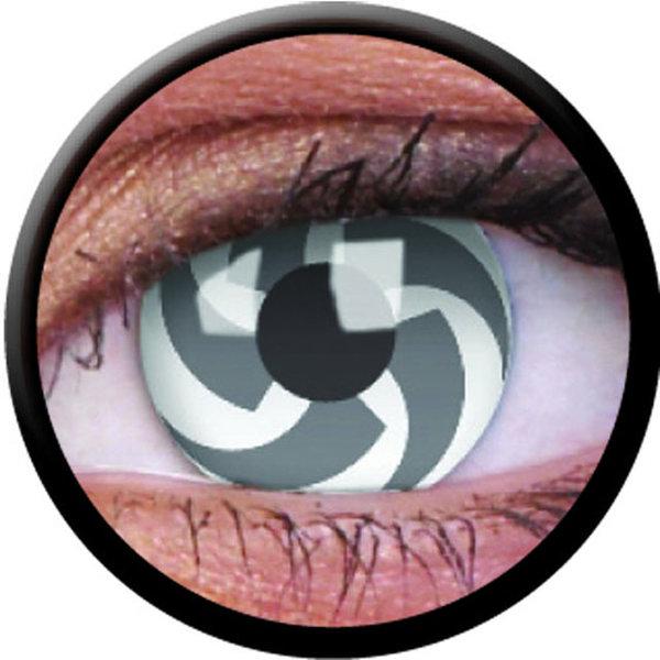 ColorVue Crazy-Kontaktlinsen - Blade (2 St. 3-Monatslinsen) – ohne Stärke