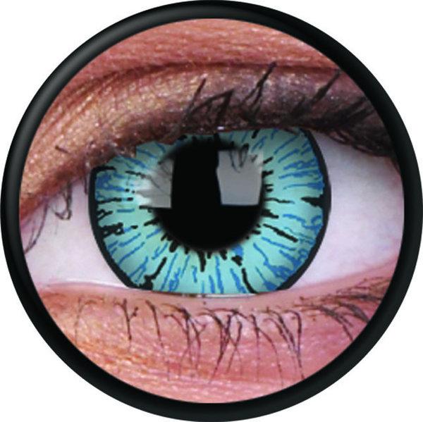 ColorVue Crazy-Kontaktlinsen - Blizzard (2 St. 3-Monatslinsen) – ohne Stärke
