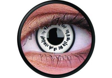 ColorVue Crazy-Kontaktlinsen - Byakugan (2 St. 3-Monatslinsen) – ohne Stärke
