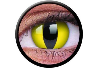 ColorVue Crazy-Kontaktlinsen - Cat Eye (2 St. 3-Monatslinsen) – ohne Stärke