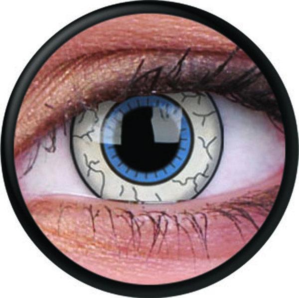 ColorVue Crazy-Kontaktlinsen - Comic Eye (2 St. 3-Monatslinsen) – ohne Stärke