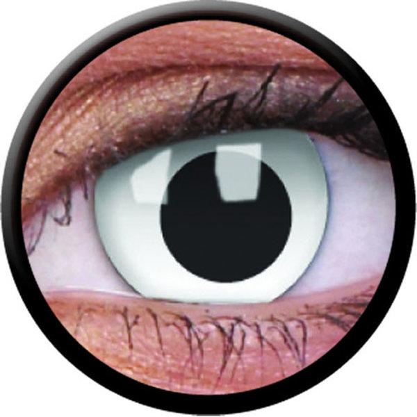 ColorVue Crazy-Kontaktlinsen - Cross Eyed (2 St. 3-Monatslinsen) – ohne Stärke