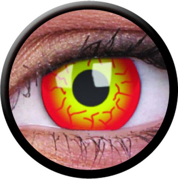 ColorVue Crazy-Kontaktlinsen - Dart Maul (2 St. 3-Monatslinsen) – ohne Stärke