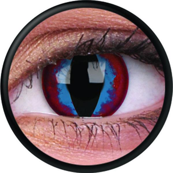 ColorVue Crazy-Kontaktlinsen - Dream Slayer (2 St. 3-Monatslinsen) – ohne Stärke