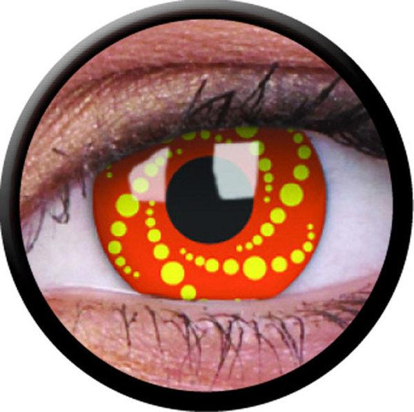 ColorVue Crazy-Kontaktlinsen - Energy (2 St. 3-Monatslinsen) – ohne Stärke