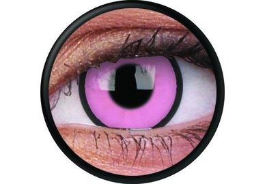 ColorVue Crazy-Kontaktlinsen - Hot Pink (2 St. 3-Monatslinsen) – ohne Stärke