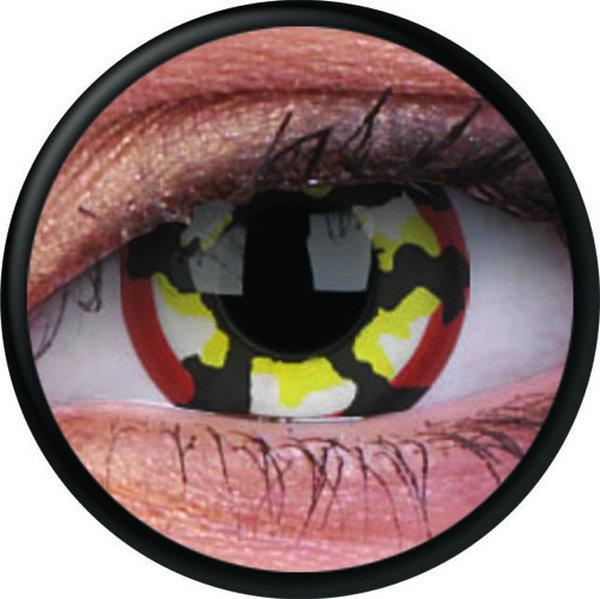 ColorVue Crazy-Kontaktlinsen - Klaw (2 St. 3-Monatslinsen) – ohne Stärke