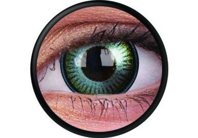 ColorVue Crazy-Kontaktlinsen - Kronos (2 St. 3-Monatslinsen) – ohne Stärke