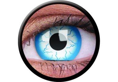ColorVue Crazy-Kontaktlinsen - Lightening (2 St. 3-Monatslinsen) – ohne Stärke