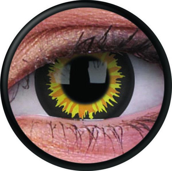 ColorVue Crazy-Kontaktlinsen - Luminor (2 St. 3-Monatslinsen) – ohne Stärke