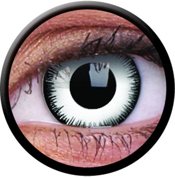 ColorVue Crazy-Kontaktlinsen - Lunatic (2 St. 3-Monatslinsen) – ohne Stärke