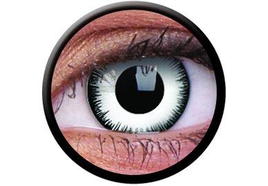 ColorVue Crazy-Kontaktlinsen - Lunatic (2 St. 3-Monatslinsen) – mit Stärke