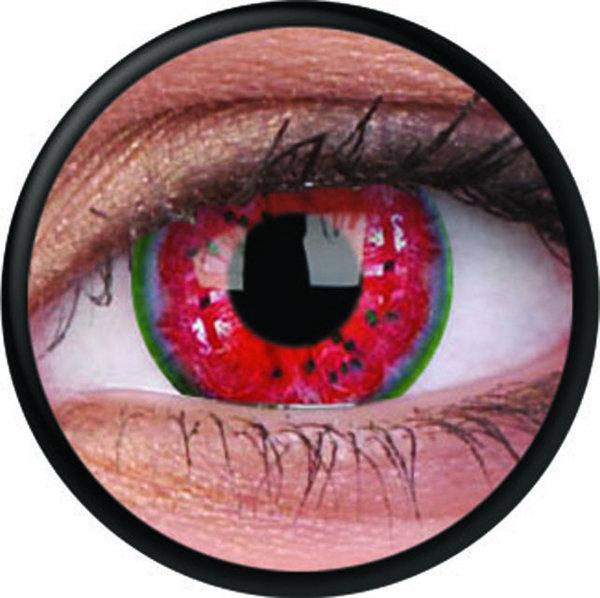 ColorVue Crazy-Kontaktlinsen - Melon Colic (2 St. 3-Monatslinsen) – ohne Stärke