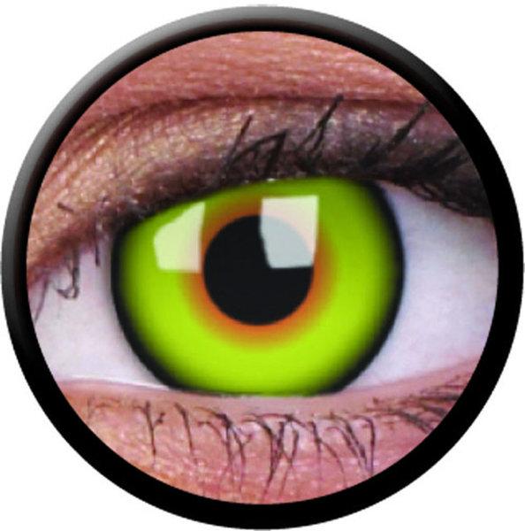 ColorVue Crazy-Kontaktlinsen - Mad Hatter (2 St. 3-Monatslinsen) – ohne Stärke