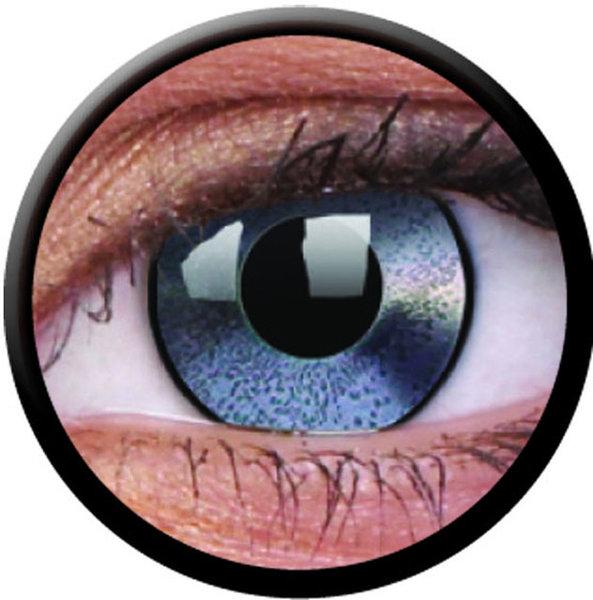 ColorVue Crazy-Kontaktlinsen - Mirror (2 St. 3-Monatslinsen) – ohne Stärke
