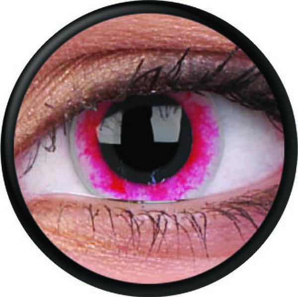 ColorVue Crazy-Kontaktlinsen - Moon Diablo (2 St. 3-Monatslinsen) – ohne Stärke