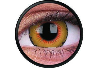 ColorVue Crazy-Kontaktlinsen -  Solarr (2 St. 3-Monatslinsen) – ohne Stärke