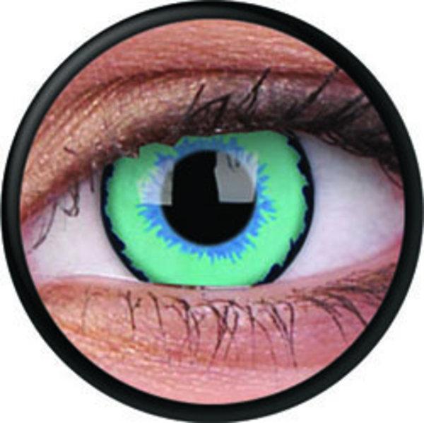 ColorVue Crazy-Kontaktlinsen - The Dexus (2 St. 3-Monatslinsen) – ohne Stärke