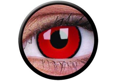 ColorVue Crazy-Kontaktlinsen - Voldermort (2 St. 3-Monatslinsen) – mit Stärke