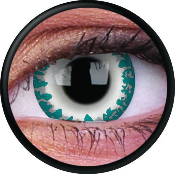 ColorVue Crazy-Kontaktlinsen - Wendigo (2 St. 3-Monatslinsen) – ohne Stärke