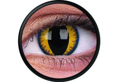ColorVue Crazy-Kontaktlinsen - Wolf Moon  (2 St. 3-Monatslinsen) – ohne Stärke