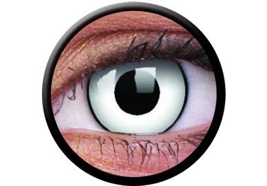 ColorVue Crazy-Kontaktlinsen -White zombie (2 St. 3-Monatslinsen) – ohne Stärke