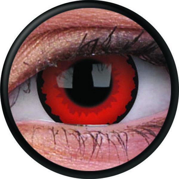 ColorVue Crazy-Kontaktlinsen -Zarathos (2 St. 3-Monatslinsen) – ohne Stärke