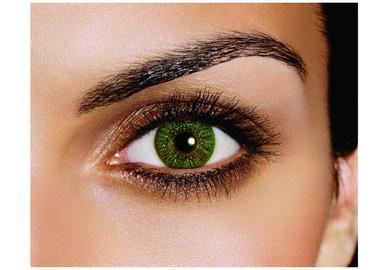 FreshLook Colors - Green (2 St. Monatslinsen) – ohne Stärke