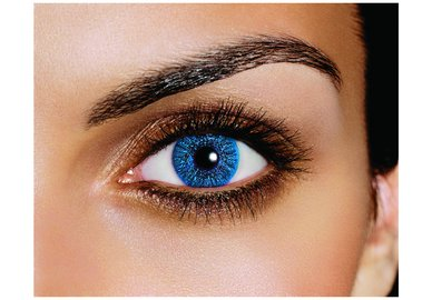 FreshLook Colors - Sapphire (2 St. Monatslinsen) – mit Stärke